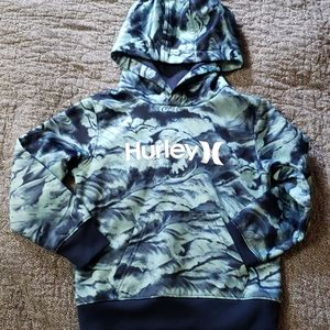 4T Hurley hooded sweater